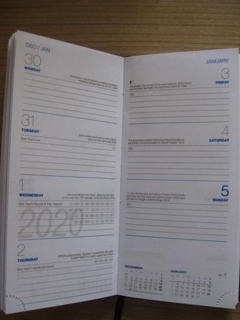 Masonic Diary 2020